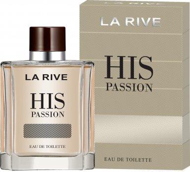 Мужская туалетная вода La Rive His Passion 100 мл (5901832067764)