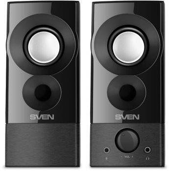 Акустична система Sven 357 USB Black (00410089)