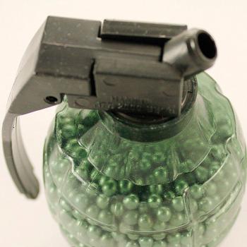 Кулі для пневматики сталеві (4.5 mm, 2000шт), граната