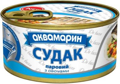 Судак паровой Аквамарин с овощами 185 г (4820183772619)