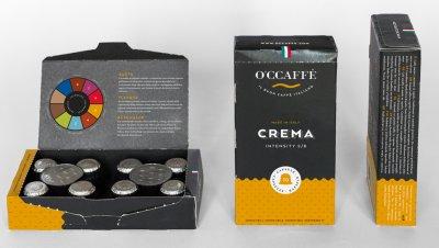 Кофе в капсулах O'CCaffe Crema 5 г х 10 шт (8013663001132)