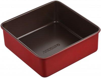 Форма для випікання Ardesto Golden Brown квадратна 22х8 см (AR2403R)