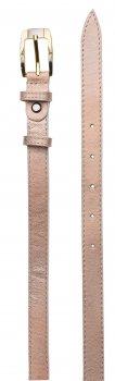 Ремень кожаный женский Sergio Torri 17820 115-125 см Персиковый (2000000014104-1)