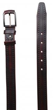 Ремень кожаный Sergio Torri 17355 115-125 см Марсала (2000000013527-1)