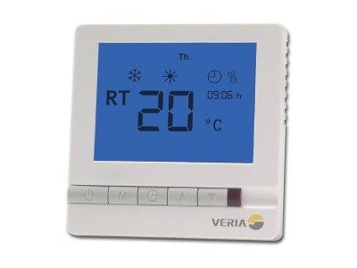 Терморегулятор Veria Control T45, цифровой, программируемый, макс 13А (189B4060)
