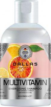 Мультивітамінний енергетичний шампунь Dallas Multivitamin з екстрактом женьшеню й олією авокадо 1 л (4260637723338)