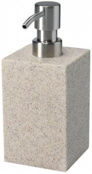 Дозатор для рідкого мила BISK Sand 01593 400 мл пісочний