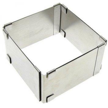 Розсувна квадратна форма для випічки висота 10 см (4895)