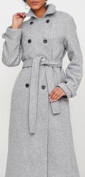 Пальто Jhiva 10014002 Светло-серое