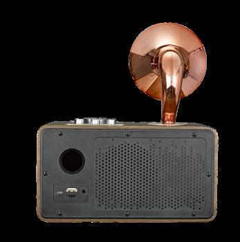 Бездротова Bluetooth колонка SODO Z17 Gold Оригінал
