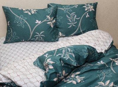 Комплект постельного белья ТМ TAG 1.5-спальный с компаньоном S352