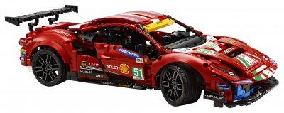 Конструктор LEGO Technic Ferrari 488 GTE AF Corse №51 1677 деталей (42125)