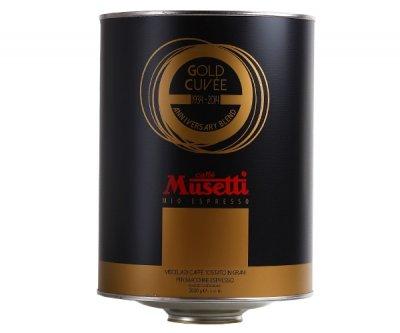 Кава Musetti Caffe Gold Cuvee в зернах 2 кг