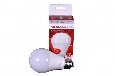 Світлодіодна LED лампочка NeoMax 7 Ват NX7L E27 4000K Driver IC (t096)