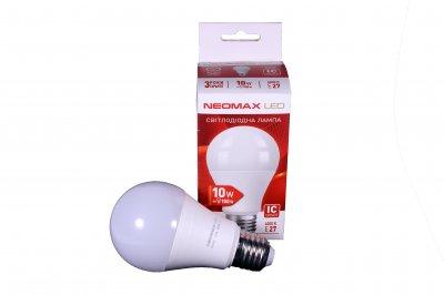 Світлодіодна LED лампочка NeoMax 10 Ват NX10L E27 4000K Driver IC (t095)