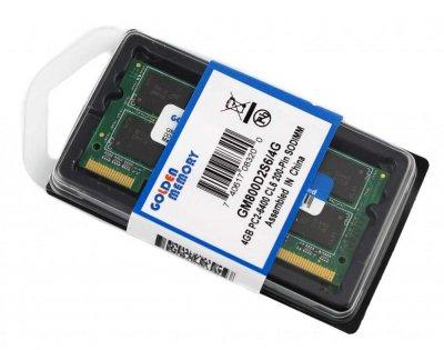 Оперативна пам'ять для ноутбука DDR2-800 (4Gb) 4096MB PC2-6400 Golden Memory GM800D2S6/4G (770008635)
