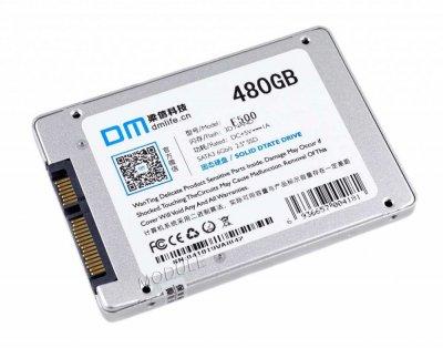 """Твердотельный накопительный (жесткий) диск 480GB DM F500 2.5"""" SATA III (DMF500/480G) (770008621)"""