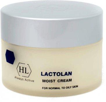 Увлажняющий крем Holy Land Lactolan Moist Cream For Oily для жирной кожи 250 мл (7290101325413)