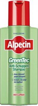 Шампунь Alpecin GreenTec против перхоти для жирной кожи головы 250 мл (4008666203700)