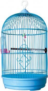 Клетка для птицы ZooMax Голубая круглая 30 x 51 см (23722) (4820097809098)