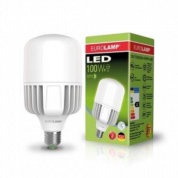 Високопотужна світлодіодна лампа EUROLAMP 100W E40 6500K 220V (LED-HP-100406)