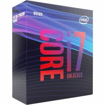 Процесор CPU Core i7-9700K 8 cores 3,60Ghz-4,90Ghz/12Mb/s1151/95W/Coffee Lake (BX80684I79700K) Box