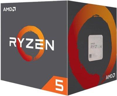 Процесор CPU AMD 6C/12T Ryzen 5 2600 3,4 GHz-3,9 GHz(Turbo)/16MB/65W (YD2600BBAFBOX) sAM4 BOX