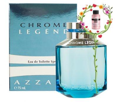 Мужская парфюмерия AZZARO CHROME LEGEND EDT SPRAY 75ML (3351500954230)