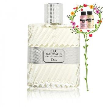 Мужская парфюмерия тестер DIOR EAU SAUVAGE EDT SPRAY 100ML (3348901073868)