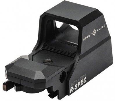 Коліматорний приціл Sightmark Ultra Shot R-Spec з двокольорового мульти сіткою 10 режимів яскравості