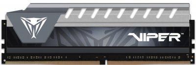 Оперативна пам'ять Patriot DDR4-2666 4096 MB PC4-21300 Viper V4 Elite Black/Grey (PVE44G266C6GY)