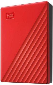 "Жорсткий диск Western Digital My Passport 4TB WDBPKJ0040BRD-WESN 2.5"" USB 3.0 External Red"