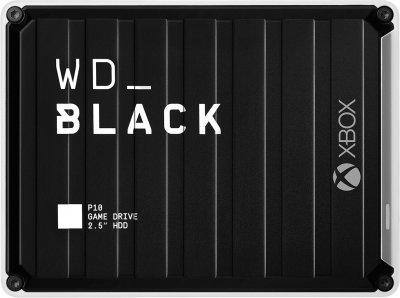"Жесткий диск Western Digital WD BLACK P10 Game Drive for Xbox One 3TB WDBA5G0030BBK-WESN 2.5"" USB 3.2 External Black"