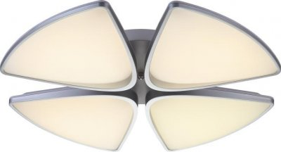 Стельовий світильник Altalusse INL-9368C-48 White & Silver LED 48Вт