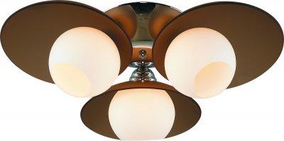 Стельовий світильник Altalusse INL-9290C-03 Chrome & Tea Е27 3х60Вт