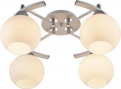 Стельовий світильник Altalusse INL-9323C-04 White & Chrome E27 4х40Вт