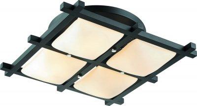 Стельовий світильник Altalusse INL-3092C-04 Chrome & Dark wengue Е27 4Х40Вт