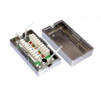 Соединитель Kingda витой пары FTP CAT 5E под забивание, экранированный (KD-CB32)