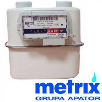 Лічильник газу мембранний Apator Metrix G4 (23)