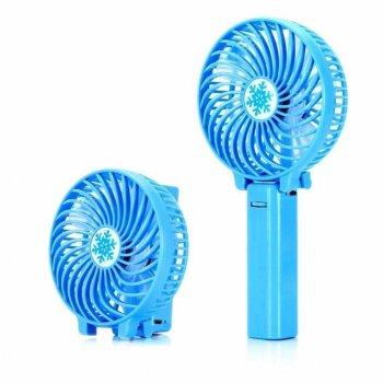 Вентилятор ручної акумуляторний Plymex HF-308 Синій (od-549)