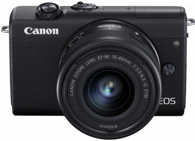 Фотоапарат Canon EOS M200 15-45mm IS STM Kit Black (3699C027AA)