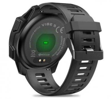 Смарт годинник Zeblaze Vibe5 з тонометром і функціями фітнес-трекера