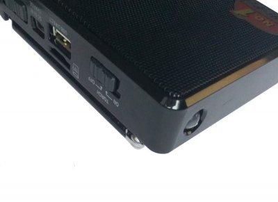 Радіоприймач акумуляторний з MP3 плеєром, Golon RX-2277, Чорний (1002478-Black-0)
