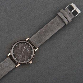Классические Женские Часы Qulijia OL3-12 C Серым ремешком