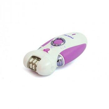 Эпилятор женский Nikai 7698 для домашнего использования с тремя насадками встроенный аккумулятор (7890RZ)