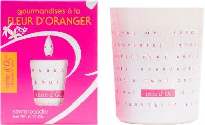 Парфумована свічка Terre d'Oc Ніжність квітів апельсина 175 г (3700324424335)