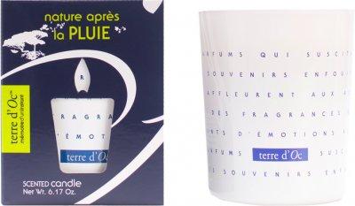 Парфумована свічка Terre d'Oc Природа після дощу 175 г (3700324424373)