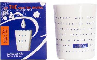 Парфумована свічка Terre d'Oc Чай під зоряним небом 175 г (3700324426636)