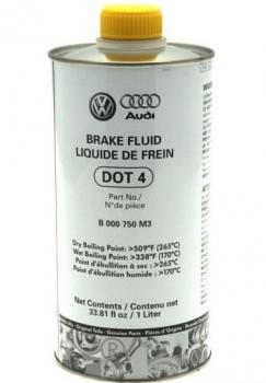 Гальмівна рідина Volkswagen DOT4 1L 1 л (B000750M3)