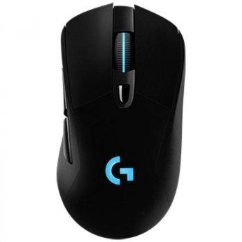 Миша бездротова Logitech G703 Lightspeed (910-005640) Black USB